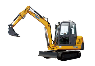 China mini crawler excavator XE40