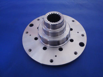 Gearbox front output flange