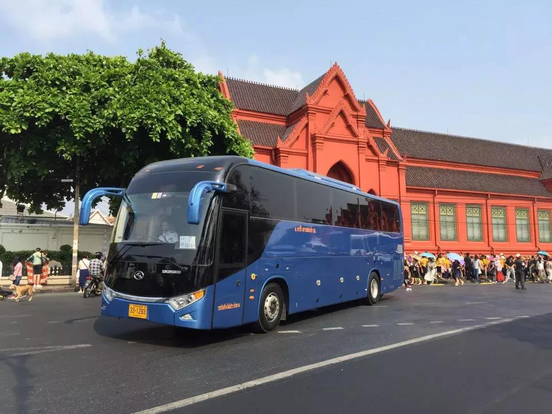 kinglong bus in Thailand