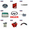 Genuine China higer bus spare parts with lower price and high performance